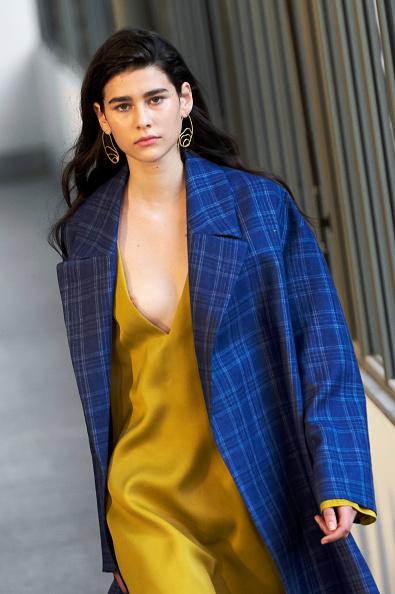 Yellow「Angel Schlesser Catwalk - Mercedes Benz Fashion Week Madrid - July 2018」:写真・画像(6)[壁紙.com]