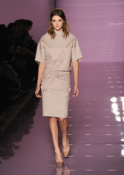Gray Skirt「Les Copains - Runway - Milan Fashion Week Womenswear Autumn/Winter 2014」:写真・画像(4)[壁紙.com]