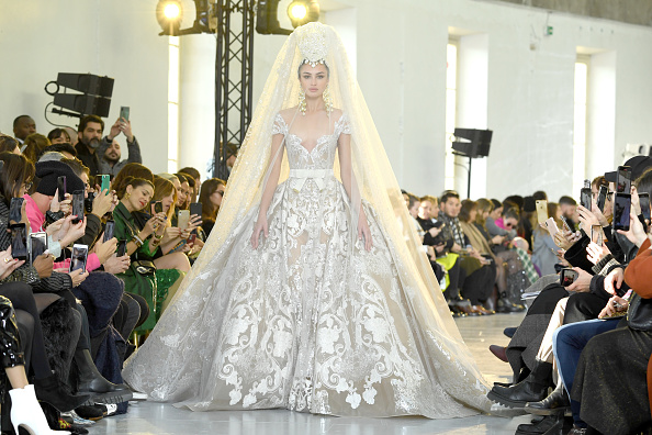Wedding Dress「Elie Saab : Runway - Paris Fashion Week - Haute Couture Spring/Summer 2020」:写真・画像(16)[壁紙.com]