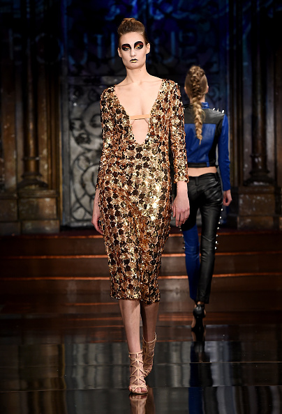 Metallic Dress「Wicked Things Boutique at New York Fashion Week Art Hearts Fashion NYFW FW/17」:写真・画像(12)[壁紙.com]