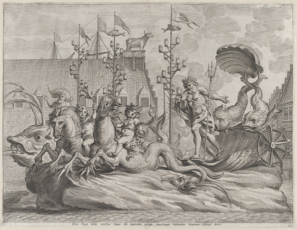 Animal Body Part「Plate 35: Philip Of Spain As Neptune」:写真・画像(5)[壁紙.com]