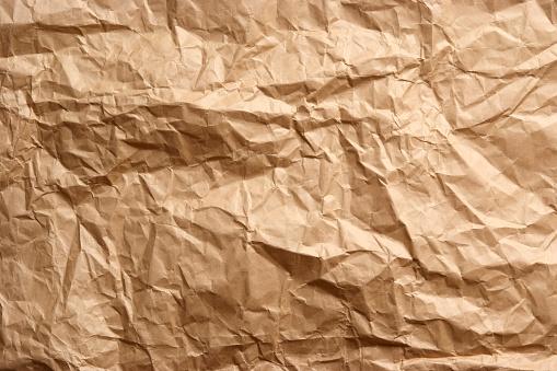 Brown Paper「Crumpled brown paper texture background」:スマホ壁紙(17)