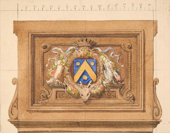 Patriotism「Design Of A Decorative Panel Featuring Hunting Trophies」:写真・画像(13)[壁紙.com]