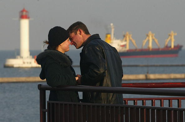 Couple - Relationship「Cargo Ships Ly Their Trade At Odessa Port」:写真・画像(4)[壁紙.com]