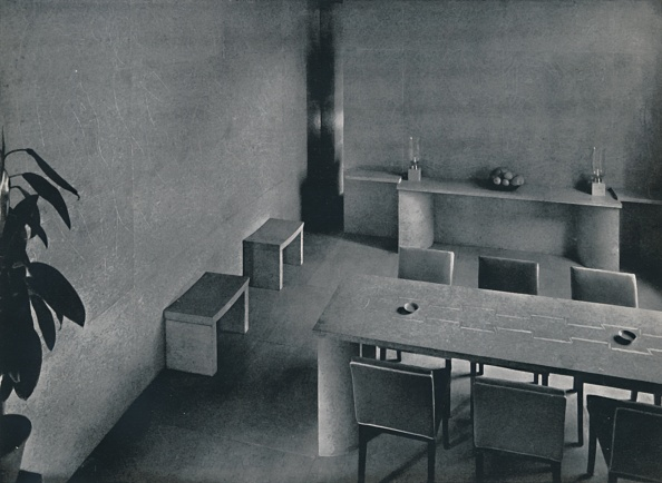 Simplicity「Dining Room Of The Architect Oliver Hill」:写真・画像(19)[壁紙.com]