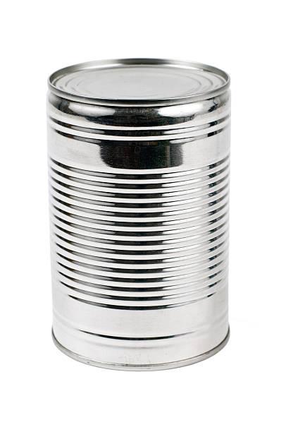 Unlabelled tin can on a white background:スマホ壁紙(壁紙.com)