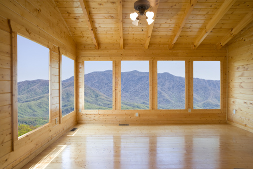 Log Cabin「Room with a view but no buyer」:スマホ壁紙(1)