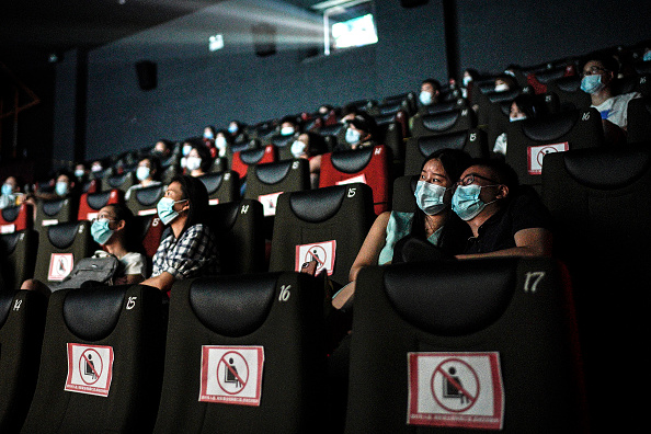 Film Industry「Wuhan Reopens Cinemas After Months In Lockdown」:写真・画像(14)[壁紙.com]