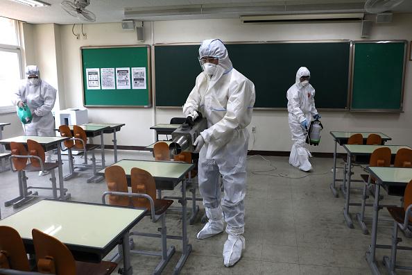 School Building「South Korea Slowly Recovers From Coronavirus Outbreak」:写真・画像(12)[壁紙.com]