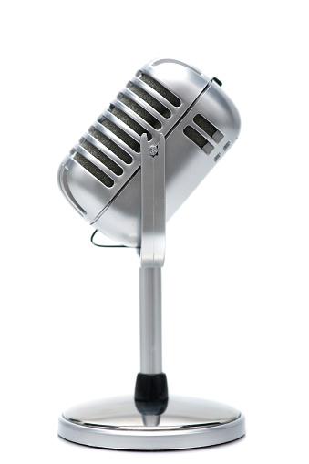 Rock Music「retro microphone」:スマホ壁紙(9)