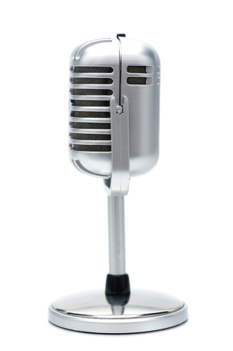 Rock Music「retro microphone」:スマホ壁紙(3)
