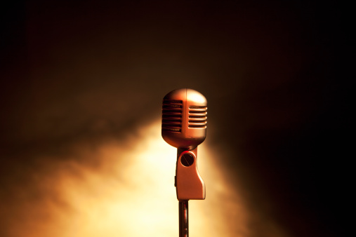 Rock Music「Retro microphone」:スマホ壁紙(17)