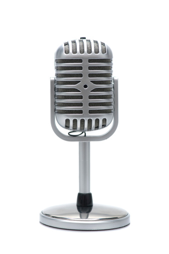 Rock Music「retro microphone」:スマホ壁紙(1)