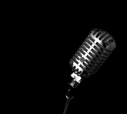 Rock Music「Retro Microphone (XXXL)」:スマホ壁紙(5)