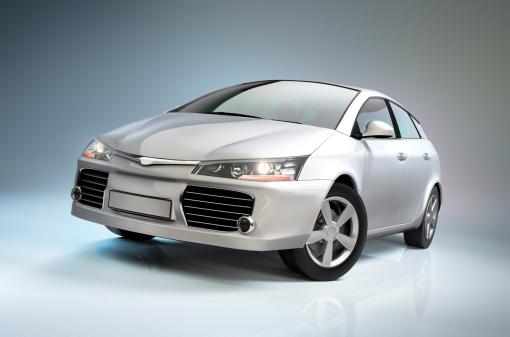 Mirror - Object「White compact car」:スマホ壁紙(16)