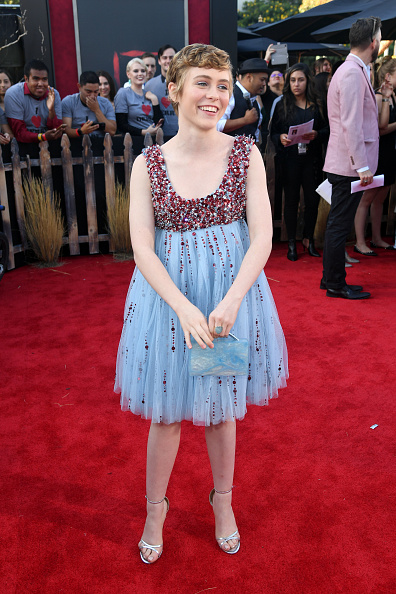 """Baby Doll Dress「Premiere Of Warner Bros. Pictures' """"It Chapter Two"""" - Red Carpet」:写真・画像(0)[壁紙.com]"""