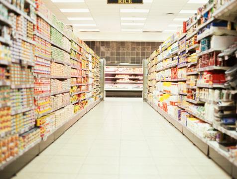 Aisle「shelves in a supermarket」:スマホ壁紙(14)