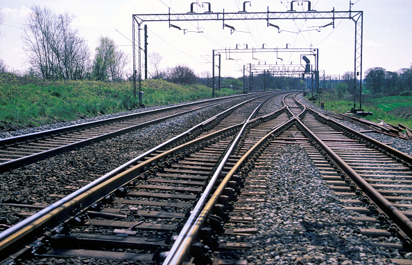 Railroad Track「On track view at Weaver Junction on the West Coast Main Line. C 1999」:写真・画像(10)[壁紙.com]