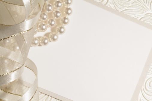 Wedding Invitation「White Wedding Background」:スマホ壁紙(8)