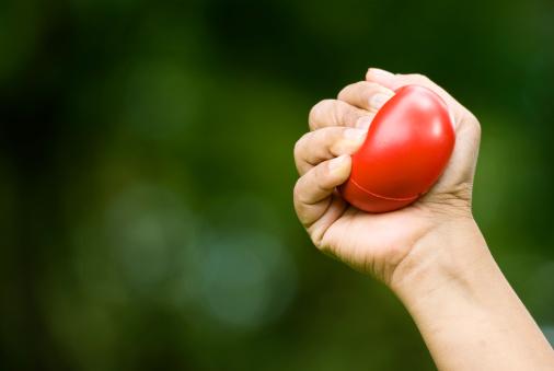 Releasing「Stress ball」:スマホ壁紙(8)