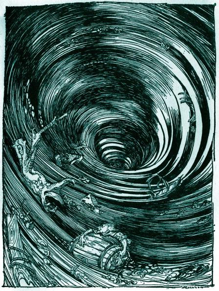 Horror「'A Descent into the Maelstrom' by Edgar Allan Poe」:写真・画像(15)[壁紙.com]