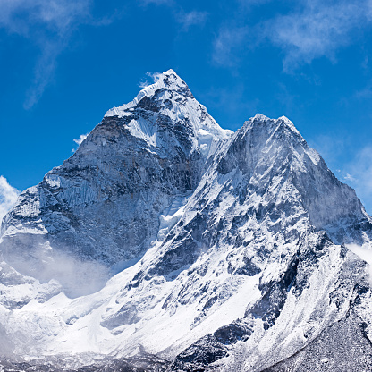 Mountain View - Arkansas「Mount Ama Dablam - Himalaya Range, Nepal」:スマホ壁紙(6)