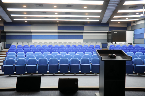 Convention Center「Empty conference hall」:スマホ壁紙(10)