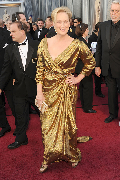 Gold Colored「84th Annual Academy Awards - Arrivals」:写真・画像(11)[壁紙.com]