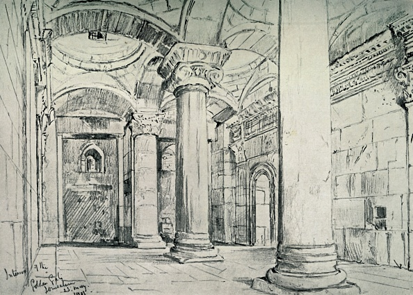 Architectural Feature「Jerusalem - The Interior Of The Golden Or Beautiful Gate」:写真・画像(8)[壁紙.com]