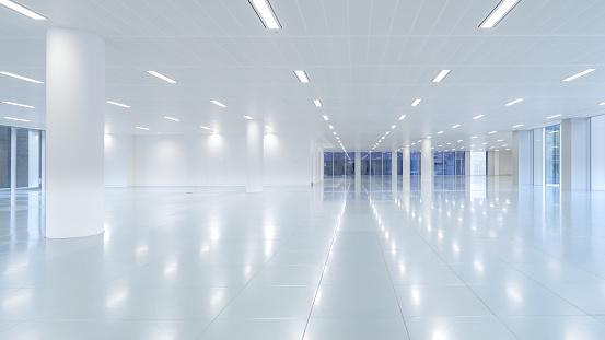 New Business「Empty modern office floor space」:スマホ壁紙(11)