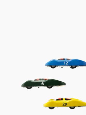 Number「Race cars」:スマホ壁紙(5)