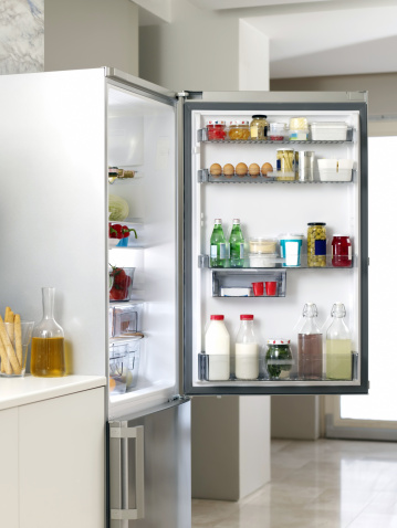 Dairy Product「Refrigerator in the Kitchen」:スマホ壁紙(12)
