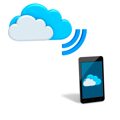 Touch Screen「Mobile Cloud applications and services」:スマホ壁紙(1)