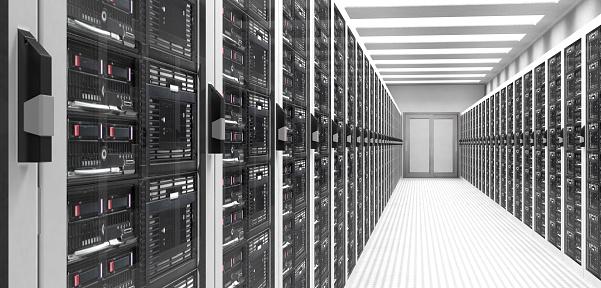 Data Center「Servers in Data Center」:スマホ壁紙(13)