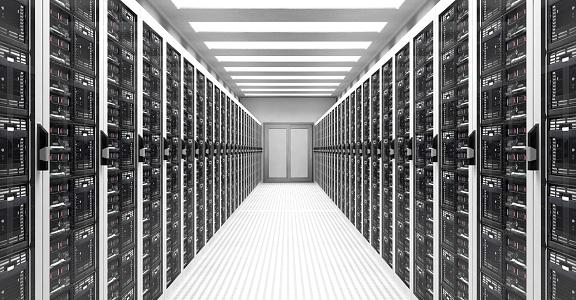 Data Center「Servers in Data Center」:スマホ壁紙(0)