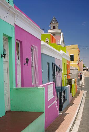 Malay Quarter「Colorful Houses on Street in Bo Kaap」:スマホ壁紙(6)