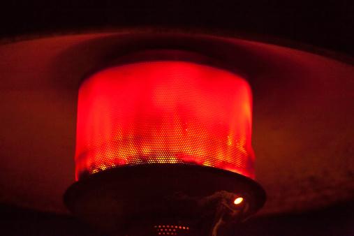 Patio Heater「Red glow of an outdoor heater」:スマホ壁紙(4)