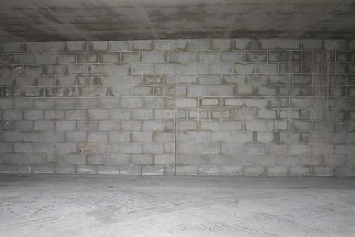 Basement「Empty Brick Wall Background」:スマホ壁紙(17)