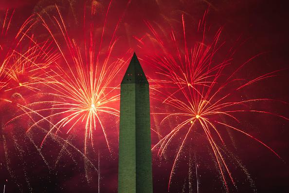 花火「Independence Day Celebrated At The White House」:写真・画像(11)[壁紙.com]