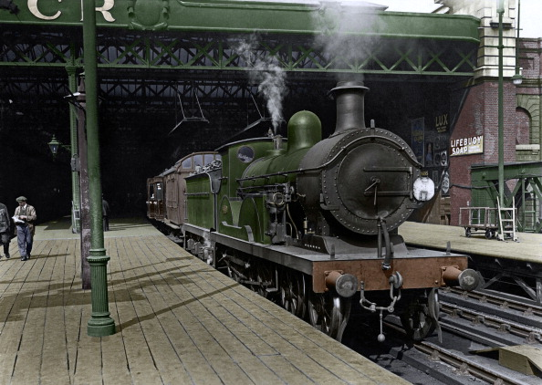Railroad Station「Engine At Charing Cross」:写真・画像(7)[壁紙.com]