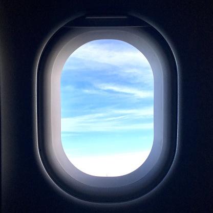Porthole「View from jet window」:スマホ壁紙(16)