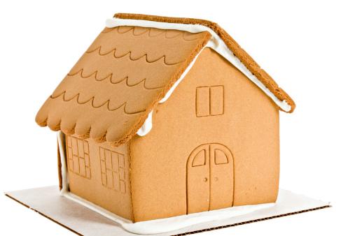 楽園「Naked Gingerbread House Isolated」:スマホ壁紙(1)
