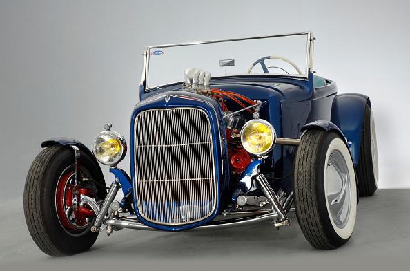 Hot Rod Car「Coffee Grinder 1930 Ford A Custom Car」:写真・画像(4)[壁紙.com]