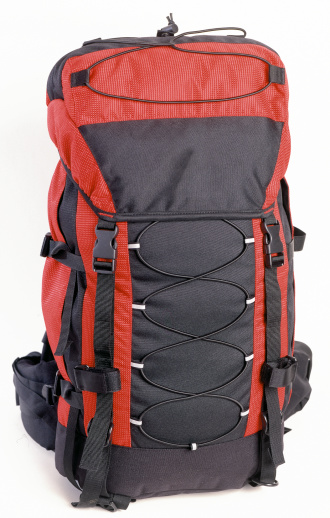 Mountain Climbing「Rucksack with clipping path」:スマホ壁紙(1)