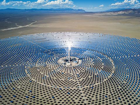 Power Equipment「Futuristic Solar Thermal Power Station」:スマホ壁紙(5)