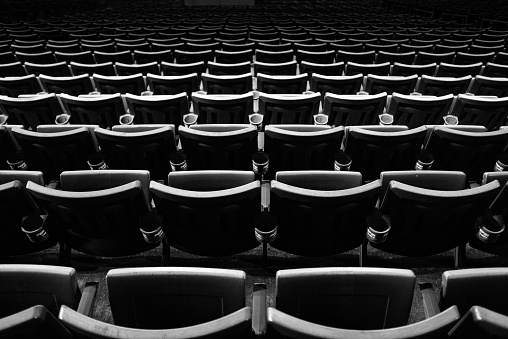 Stadium「Rows of empty stadium seats」:スマホ壁紙(0)
