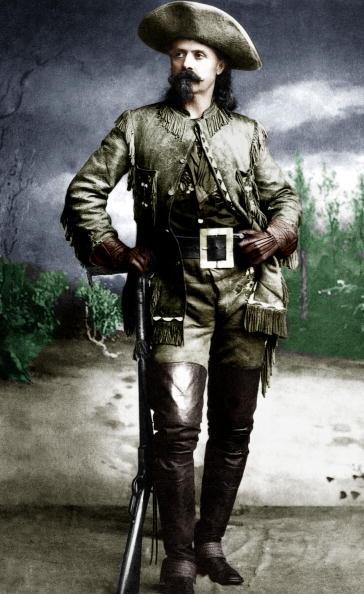 Gunman「William Frederick Cody aka Buffalo Bill (1846-1917) american pioneer famous for his dexterity of gunman c. 1885」:写真・画像(14)[壁紙.com]
