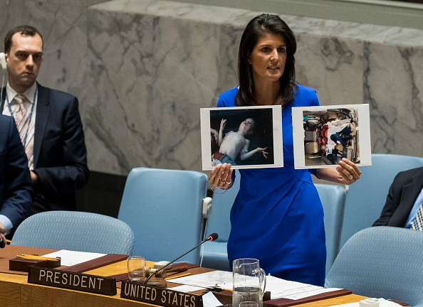 Chemical「United Nations Security Council Holds Emergency Meeting On Syria」:写真・画像(3)[壁紙.com]