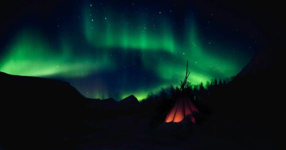 Aurora Polaris「The Northern Lights Aurora」:スマホ壁紙(12)
