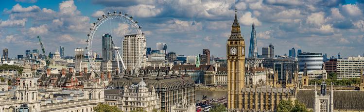 Supreme Court「Aerial view of London including Big Ben」:スマホ壁紙(9)